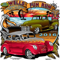 Wells Fun Run Car Show and Cruise
