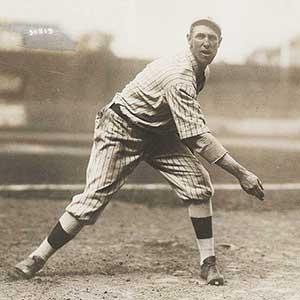 Wheezer Dell RHP Brooklyn Robins 1915-1917