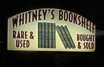 Whitney's Bookshelf, Tonopah Nevada