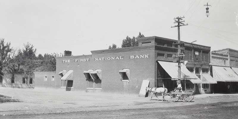 First National Bank, Winnemucca 1910
