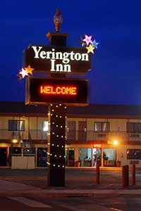 Yerington Inn, Yerington Nevada