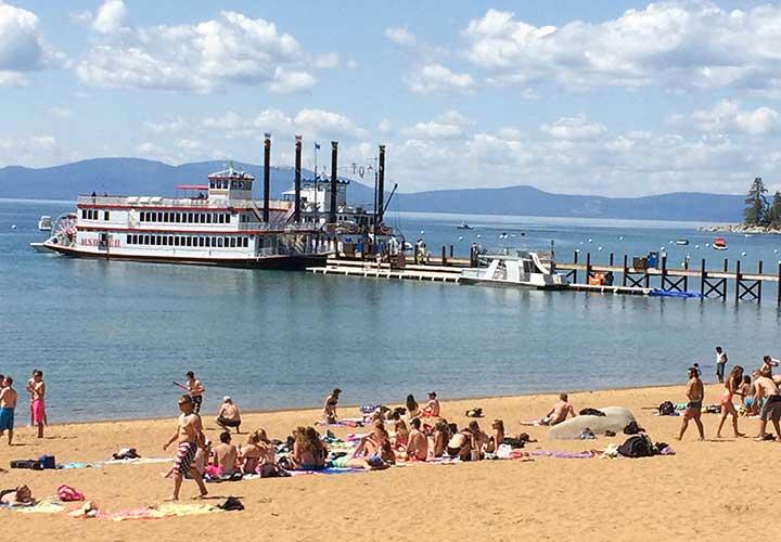 Zephyr Cove Beach, Lake Tahoe Nevada